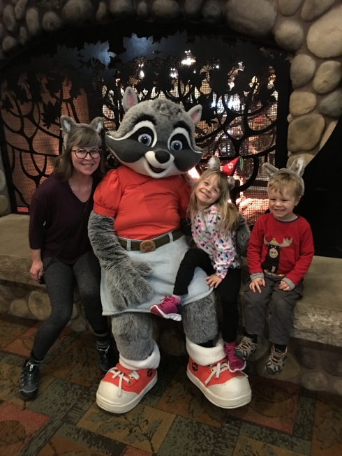 At Great Wolf Lodge