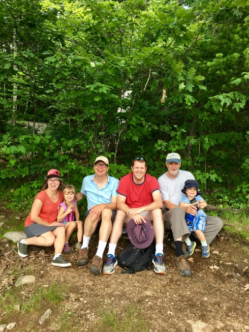 Family New England Hike