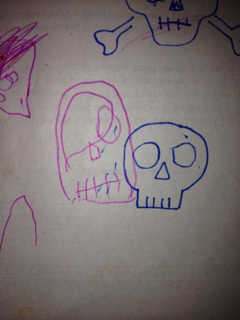 Spooky Skulls