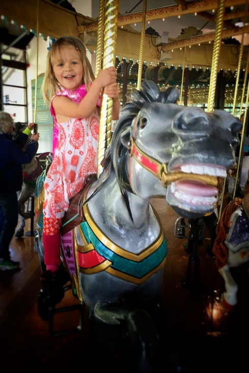 Cutie on a Carousel