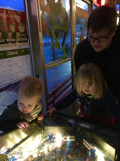 Pinball at Pies and Pints