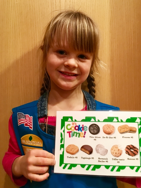 Girl Scout Cookie Time